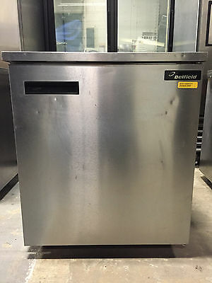 Delfield 406-STAR2 Single-Door Undercounter Reach-in Refrigerator WORKS GREAT!