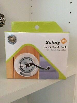 NEW Safety 1st lever handle lock  baby toddler door proof