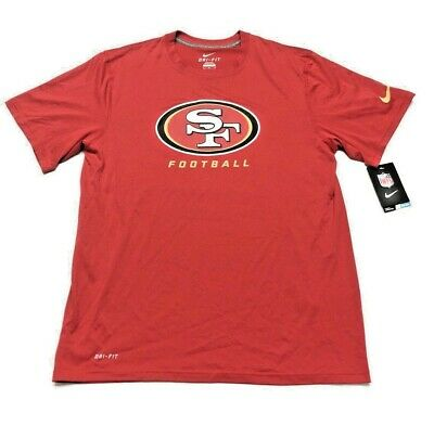 Nice SAN FRANCISCO 49ERS Nike NFL Dri Fit Legend Team Tee (Red) NWT Men's