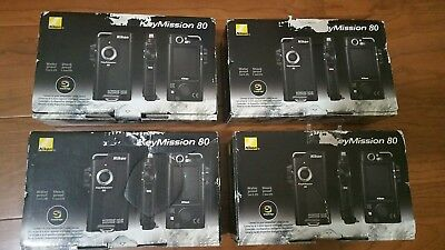 BRAND NEW Nikon KeyMission 80 Waterproof & Shockproof Action Camera! USA MODEL