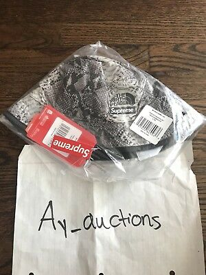 Supreme The North Face Snakeskin Packable Reversible Crusher Black Grey L XL 81f1c3d17aa1