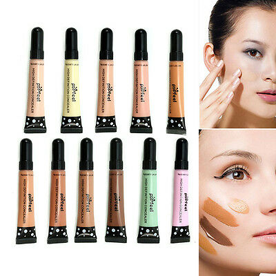 Full Cover Makeup Primer Concealer Corrector Cream Face Foundation Contour DS