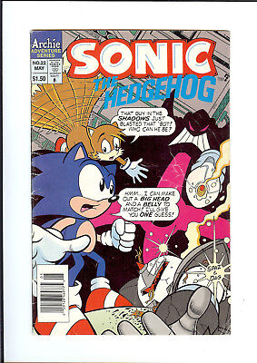 SONIC THE HEDGEHOG #22 1995 ARCHIE The Return VG
