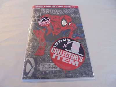 Spider-Man #1 Black Silver Bagged McFarlane Marvel VF/NM Comics Book