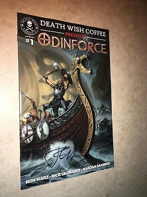 Death Wish Coffee presents OdinForce 1 Rick Leonardi signed by Ron Marz