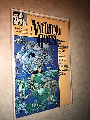 Anything Goes 2 Alan Moore's Pictopia Frank Miller Sam Kieth Jack Kirby Simpson
