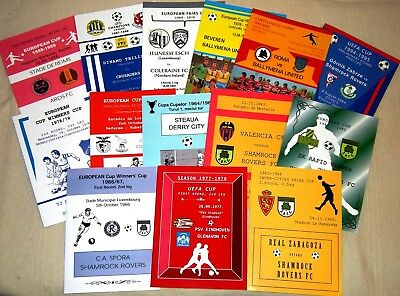 PROGRAMMES FROM 20th CENTURY ! 1957-2000_UNOFFICIAL !!! Mint ! Special offer !