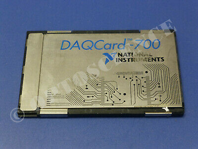 National Instruments DAQCard-700 NI DAQ Card PCMCIA, Analog Input, Multifunction