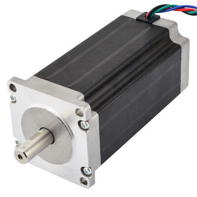 Nema 23 Robotics Stepper Motor 3Nm 3.5A 113mm Length 4-wire CNC Extruder Motor