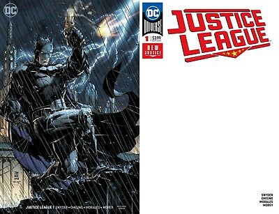 Justice League # 1 Jim Lee Variant + Blank Variant 1st Print DC Comics 2018 NM+