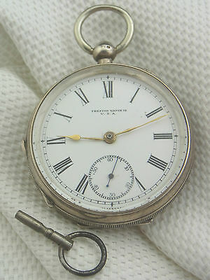 alte Taschenuhr Trenton Watch Co. USA