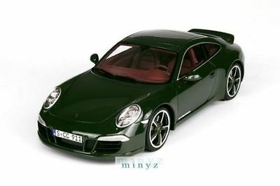 1:18 GT Spirit - 2012 Porsche 911/991 Carrera S Club Coupe Green LMTD #gt007cs