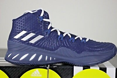 01928576a7b4c6 adidas Crazy Explosives 2017 Men's Basketball Shoes Size US 11.5 Navy/White