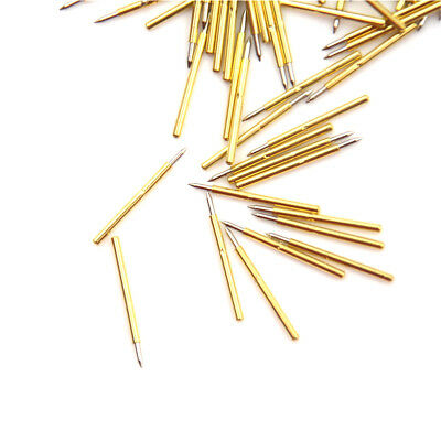 100pcs P75-B1 Dia 1.0mm Cusp Spear Spring Loaded Test Probes Pogo Pins tool GSWI