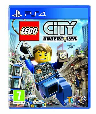 LEGO City Undercover (PS4) BRAND NEW SEALED PLAYSTATION 4