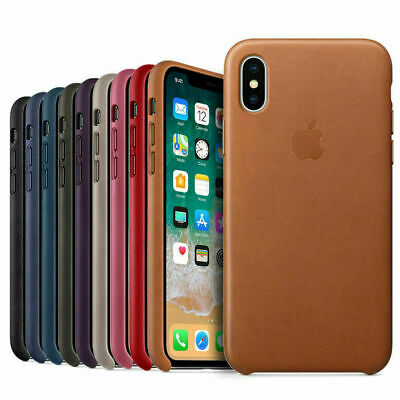 Genuine PU Leather Case Cover For Apple iPhone 10 X 8/8 Plus 7/6S/SE