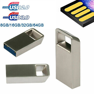 Short USB 3.0/2.0 64GB Flash-Laufwerke Speicher Stick Storage Digital U Disk Lot
