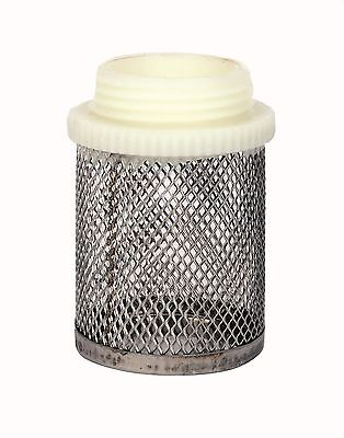 "Stainless Steel Mesh Filter.  Male BSP Thread.  1/2"" To 4"""
