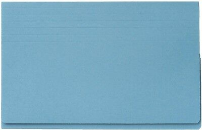 Guildhall 315 gsm Probate Wallets, Foolscap, Blue, Pack of 25