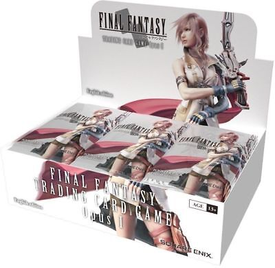 Final Fantasy TCG - Opus I Sealed Booster Box - Brand New