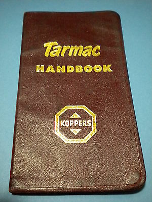 Vintage Tarmac Handbook 7Th Ed Koppers-Tables & Gen Info Tarmac Road Const/maint