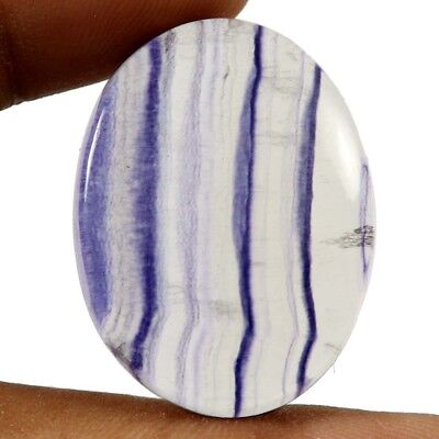 44.85 cts 100% Natural Designer Fluorite Cabochon Oval Untreated Loose Gemstone