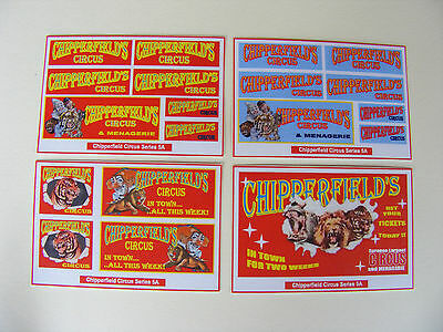 Chipperfield Circus Stickers – Series 5A
