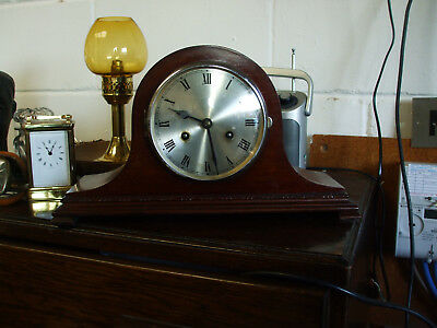 Large Mantle Clock with key