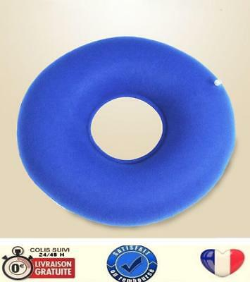 Coussin d'assise circulaire gonflable + pompe -