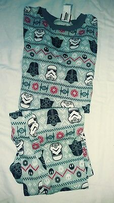 Boys 2Pc Star Wars Pj's Size 12