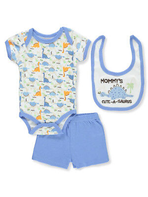Weeplay Baby Boys' 3-Piece Layette Set