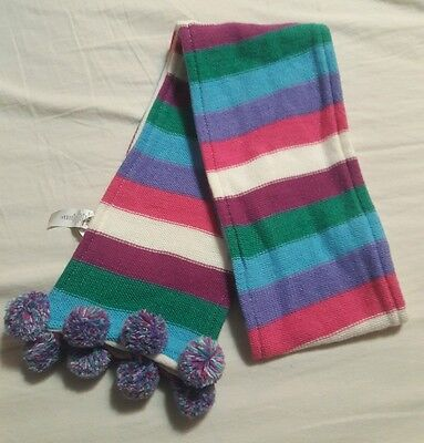 THE CHILDRENS PLACE Multi-colored striped girls scarf ONE SIZE
