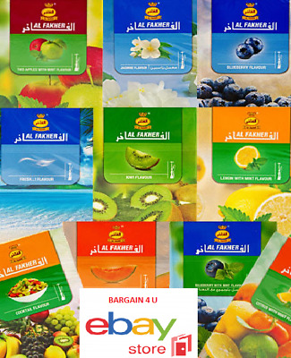 Choose From - Starbuzz  Layali Oasis Al Fakher - Blueberry Mint Grape Apple
