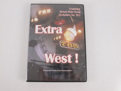 Train DVD: Extra 765 West Nickel Plate Road