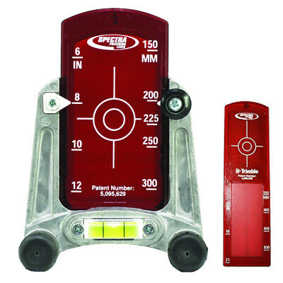 Spectra Precision Model 956 Red Beam Pipe Laser Target Complete