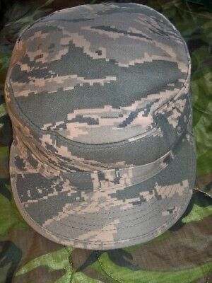 US Air Force ABU Tiger Stripe Camo Utility Hat Cap Size 7 1/4 EXC COND