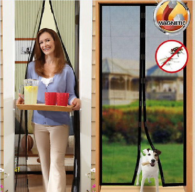 MAGIC Magnetic Insect Door Mesh Net Screen for Bug Mosquito Fly Curtain Hot New