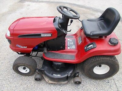 Sears Craftsman Dlt 3000 Riding Mower 24 Hp Briggs V Twin 42 Serviced