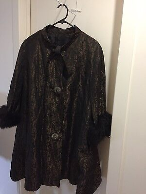Retro Vintage Miss Fair Of London Ladies Coat
