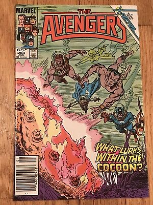 The Avengers # 263 - 1986 - Return Of Jean Grey Leads Into X-Factor