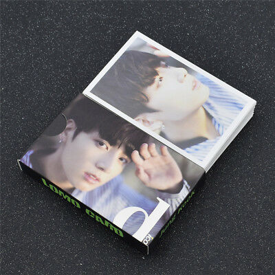 1 Set BTS JUNGKOOK Lomo Cards 30 pieces Collective Paper Photocards KPOP Gifts