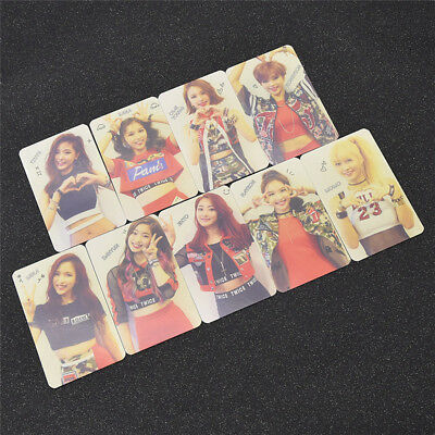 Set of 9 PVC TWICE The Story Begins Mini Photo Cards Fashion Hot Gift Hip Hop