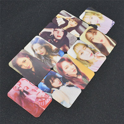 10 Pcs Kpop Star Red Velvet BAD BOY Album Photo Card Collection Paper Craft Deco