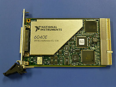 National Instruments PXI-6040E NI DAQ Card, Analog Input, Multifunction