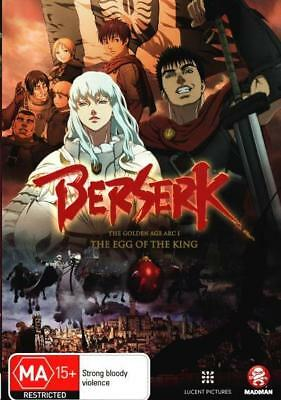 Berserk Movie 1 The Egg of the King DVD | Region 4 | New