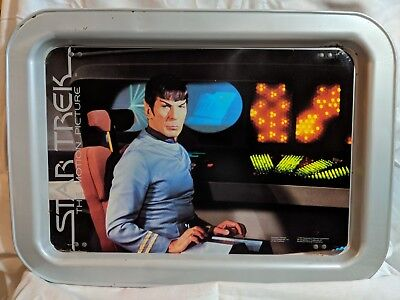 Star Trek - Mr. Spock TV Tray The Motion Picture  - Vintage - Great Condition