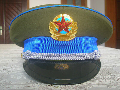 87's series China PLA Air Force Officer CAP,Hat