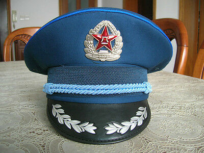 07's series China PLA Air Force Reserve Forces Officer CAP,Hat