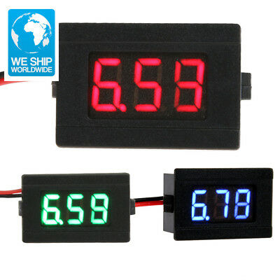 High Quality 0.36inch LED Digital Voltmeter DC 4.5-30V Two Line Volt Meter Teste