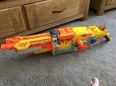 Nerf Havok Fire EBF-25 Gun Only , Not Working For Spares And Repairs